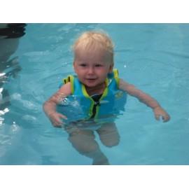 Neoprenowa kamizelka do nauki pływania z zamkiem
