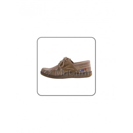 Buty Calvi nubukowe beżowe